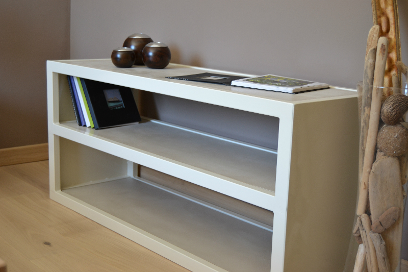 Bibliotheque design contemporain for Console meuble tv